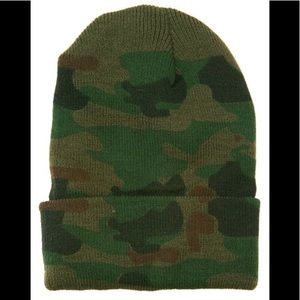 Unisex Camo Winter Hat